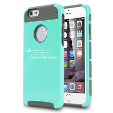 For iPhone SE 5 5s 6 6s 7 Plus Shockproof Impact Hard Case Dance In Rain Quote
