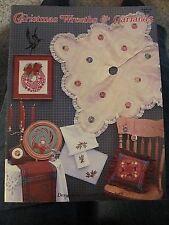 Christmas Wreaths & Garlands Cross Stitch Patterns Charts 11 Designs