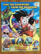 Dragon Ball: Revenge Of King Piccolo Wii 2009 Poster Ad Art Print Promo DBZ Rare