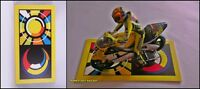 1:12 Floor Board Stand MotoGP Valentino Rossi Sol-Luna Sun-Moon to minichamps