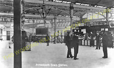 Portsmouth & Southsea Low Level Railway Station Photo. Fratton & Cosham Line (3)