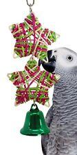 960 Christmas Star  BIRD TOY parrot cage toys parakeet cockatiel xmas conure