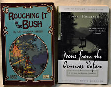 Canada Adventure Lot X2 Roughing It in the Bush Notes from Century Before B.C.