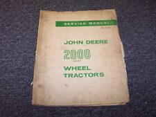 John Deere 2000 2010 Wheel Tractor Workshop Shop Service Repair Manual Sm2036