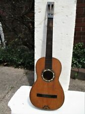 """EUROPEAN PARLOR GUITAR, 1880'S, PROJECT, SELLING """"AS IS"""""""
