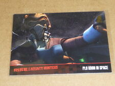 2010 Topps Star Wars CLONE PLO KOON IN SPACE GOLD PARALLEL /100 E1213