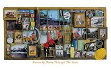 Kentucky Derby THROUGH THE YEARS Nostalgic Horse Racing Premium POSTER Print