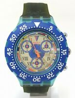 Orologio Swatch AcquaChrono ref SBN101 diver watch scuba 43 mm clock diving
