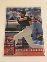 1998 Leaf Rookies & Stars Baseball Base Card - Derek Jeter - New York Yankees