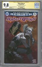 Harley Quinn #1 CGC 9.8 SS  Bulletproof Comics PINK edition signed by Dell 'Otto