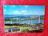 OVER  LOOKING LAKE  BURLEY GRIFFIN  CANBERRA  A.C.T.  COLOUR  POSTCARD  [286]