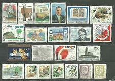 FINLAND stamps from the 1980's & 1990's - 22 different MNH