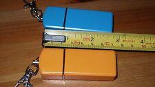 2 x Aluminum Mini Portable Cigarette Ashtray Push-pull Pocket Travel Gift-