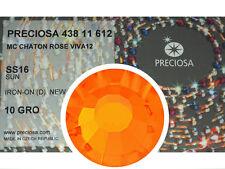 HOTFIX, 1440 Preciosa Genuine Czech Crystals 16ss Sun Viva Iron-on, 4mm ss16