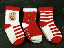 Baby, Toddler ABS, Christmas , Cotton Blend Anti Non Slip Socks 1 Pair