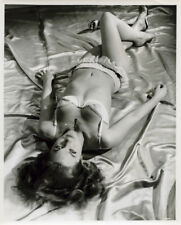 Shirley Anne Field sexy original 1960 photo in bra and panties The Entertainer