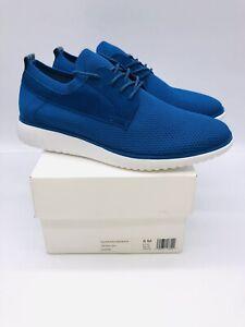 Calvin Klein Men's Tavon Sneakers Knit / Nubuck Seaport US 8M / EUR 41