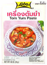 Lobo Shirmp Tom Yum Goong Paste Thai Herbal Food Delicious 30g.