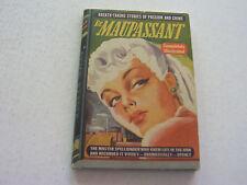DE MAUPASSANT  1943   RARE QUICK READER   ILLUSTRATED    MINT CONDITION