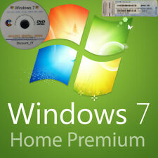 Windows 7 Home Premium 64 bit Genuine Activation Licence Key with Repair Disc