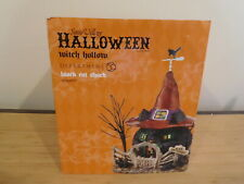 New ListingDept 56 Sv Halloween - Black Cat Shack - Nib