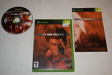 Dead or Alive 3 Microsoft Xbox Video Game Complete
