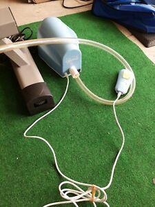 Mattress Genie Full Size Adjustable Bed Wedge Incline w/HT-205 Air Pump & Remote