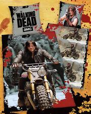 Bettwäsche The Walking Dead - Daryl mit Motorrad - 135 x 200cm - 100% Baumwolle