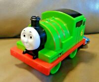 Thomas & Friends My First Percy Push Along Train  Steam Engine Green Railroad