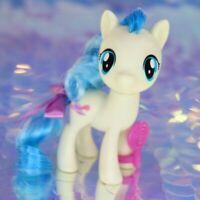 My Little Pony MISS COCO POMMEL Cream Blue Purple Hat G4.5 FiM MLP Movie BB997