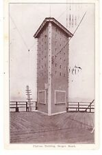 MOST RARE BROOKLYN BERGEN BEACH AMUSEMENT CARD, FLATIRON BLDG ON BOARDWALK, NYC