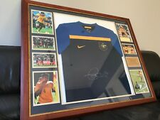 Tim Cahill signed framed Socceroos World Cup Jersey