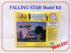 🎪 HO Scale Carnival FALLING STAR 5117 Model Kit International Hobby Corp IHC 🎪