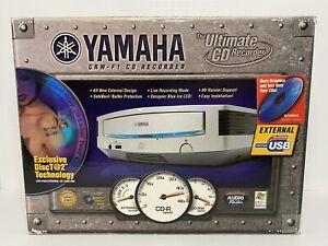 Yamaha CRW-F1 F1UX External USB CD Drive Recorder Rewriter In Box With Manual