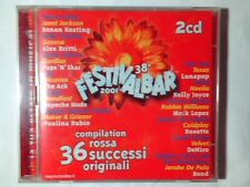 2CD FESTIVALBAR 2001 COMPILATION ROSSA VASCO ROSSI DEPECHE MODE COLDPLAY LUNAPOP