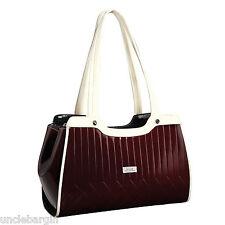 Serenade Cherry Venetian Genuine Leather Handbag (H86-9920)