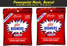 GHS GBXL Boomers 9-42 Electric Strings 6 Complete Sets! (2x3 packs) Brand New!