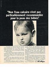 PUBLICITE ADVERTISING  1965   CULLIGAN  traitement adoucisseur d'eau