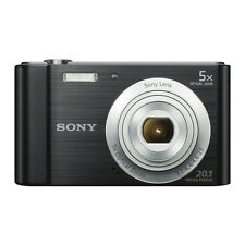 Sony Cyber-shot DSC-W800 20.1MP Digital Camera - Black / Case / 16GB Memory Card