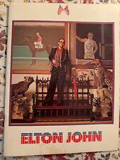 Elton John 1974 Tour Program