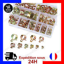 Clip a Ressort Tuyau Collier Serrage Durite essence 100 Pieces Serre-joints