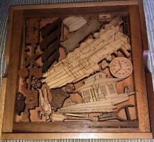 Train Heritage Puzzle ~ Railroad Brain Teaser Puzzle- Creative Craft house~USA
