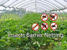 White 6.5FT*100FT Insect Netting,Pests Netting Protective for Plant Crops SALE