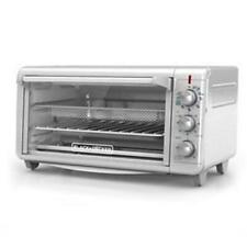 Spectrum TO3265XSSD Extra Wide Crisp N Bake Air Fry Toaster Oven - Silver
