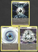 Pokemon Set of Energy Cards (3) Ex Unseen Forces