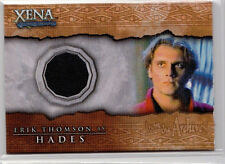 Hades/Erek Thomson Xena Beauty and Brawn Costume Material Prop Relic Card C11
