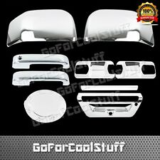 2015 Ford F-150 2Drs+Base Plate+Mirror+Tailgate W/Sensor+Gas Chrome Covers