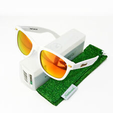 a2dbd5728 Knockaround Fort Knocks Sonnenbrille Sunglass White Frame Red Chrome  Polarized