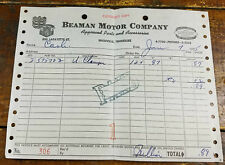 1955 Beaman Motor Co 500 Lafayette St Nashville TN Tennessee Car Parts Service