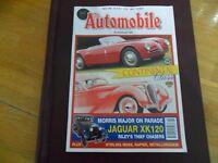 THE AUTOMOBILE V16 #1 MAR '98 LANCIA DELAHAYE JAGUAR XK120 MORRIS RILEY NAPIER
